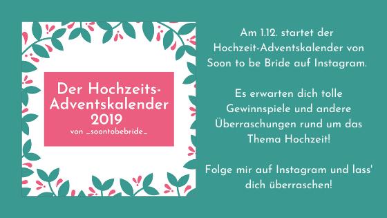 Hochzeits-Adventskalender
