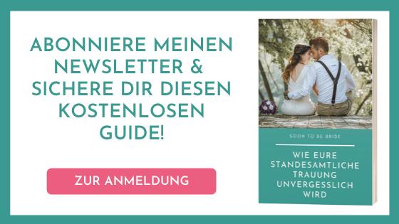 10 Ideen Für Eine Romantische Hochzeit Soon To Be Bride