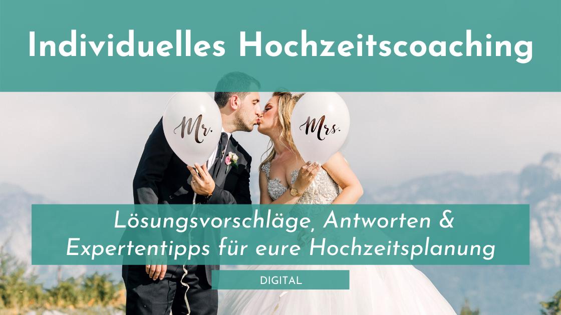 Individuelles Hochzeitscaoching