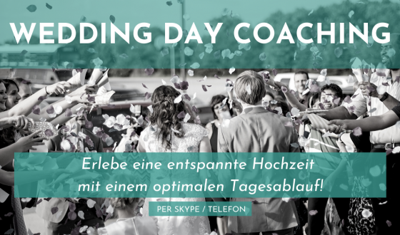 Wedding Day Coaching